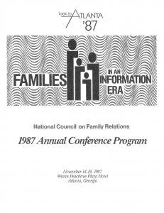 1987 conference program