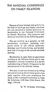 1940 membership pamphlet