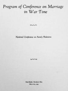 1943 program cover