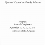 1948 conference program cover