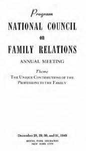 1949 program cover