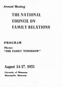 1955 program cover