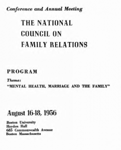 1956 program cover
