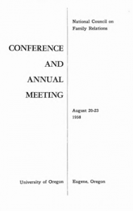 1958 program cover