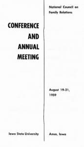 1959 program cover