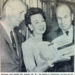 Ivan Nye, Eleanore Luckey, and Harold Christensen