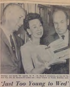 Read news coverage of the 1961 NCFR conference
