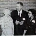 Kate Garner, Mildred Morgan, Dan Hobbs, Frances Jordan, and Mrs. J. Leonard Middleton
