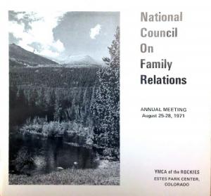 1971 conference program
