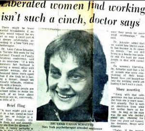 Read news coverage of the 1973 NCFR conference