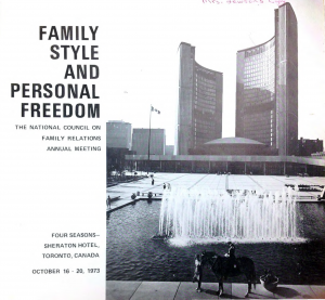 1973 conference program
