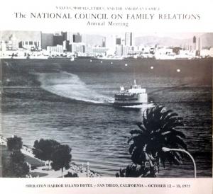 1977 conference program