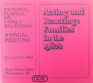 1981 conference program