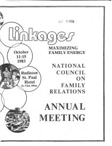 1983 conference program