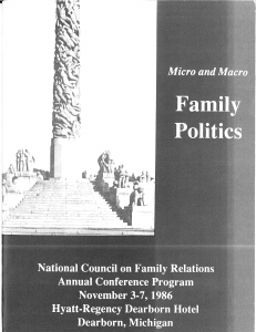 1986 conference program
