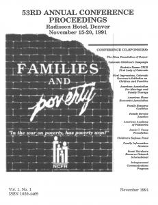 1991 conference program