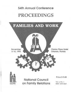 1992 conference program