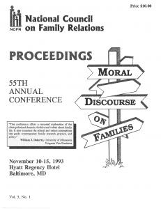 1993 conference program