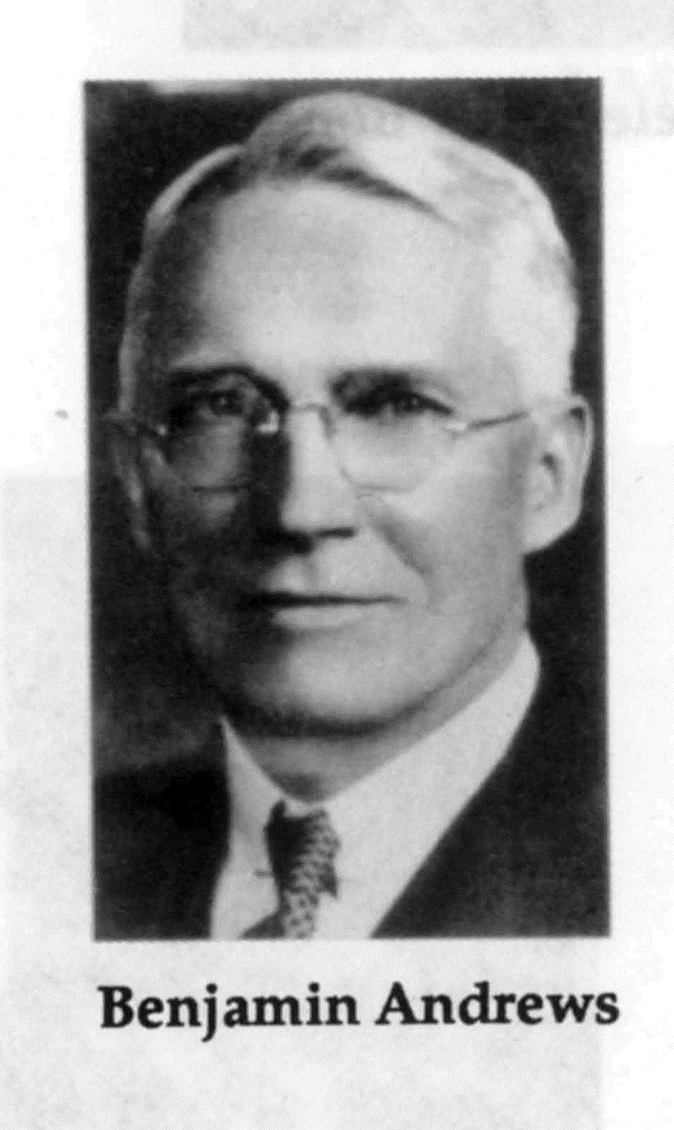 Benjamin Andrews