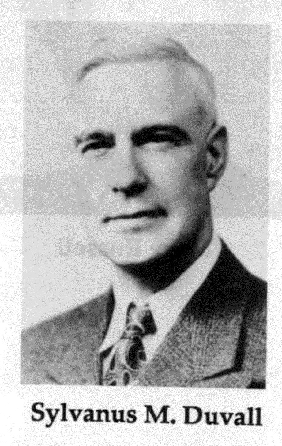 Sylvanus Duvall