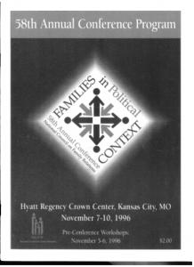 1996 conference program