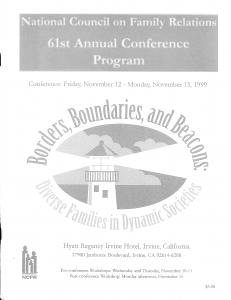 1999 conference program
