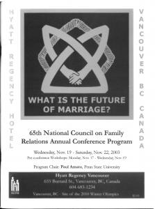 2003 conference program