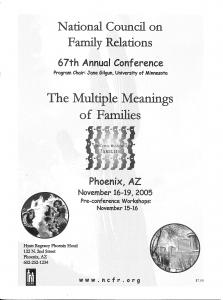 2005 conference program