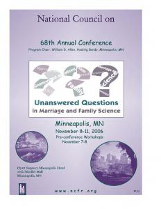 2006 conference program