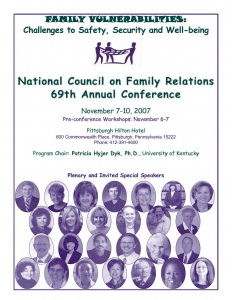 2007 conference program