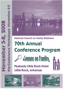 2008 NCFR conference
