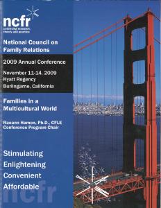 2009 conference program