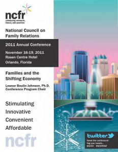 2011 conference program