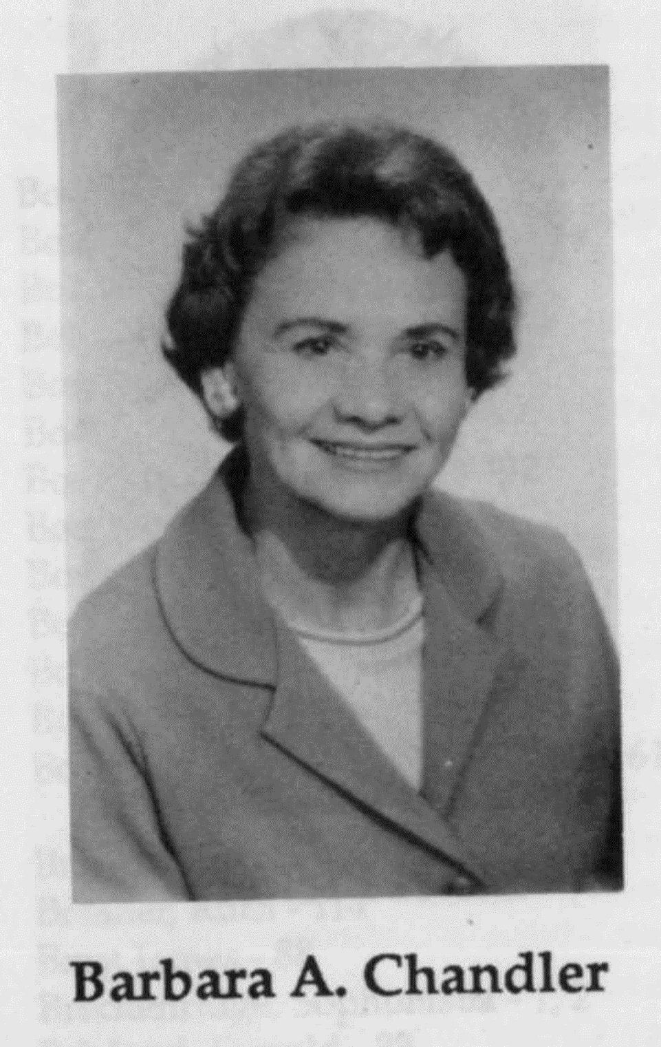 Barbara Chandler