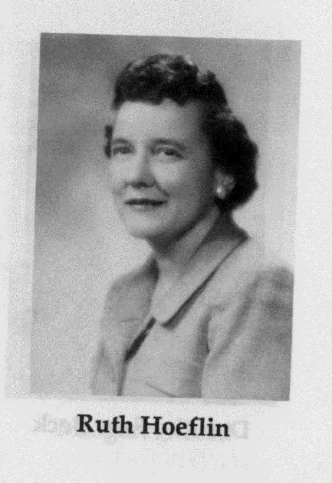 Ruth Hoeflin
