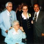 1999-Three NCFR Execs: Vance & Ruth Jewson, Mary Jo Czaplewski, Michael Benjamin