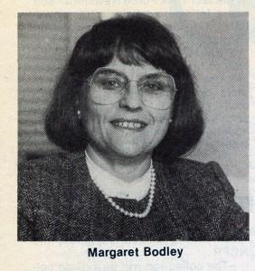 Margaret Bodley