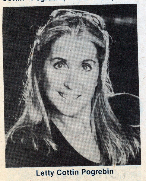 1985 Letty Cottin Pogrebin 1985 Letty Cottin Pogrebin