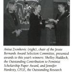 2001 03 Anisa Zvonkovic Shelley Haddock Jennifer Hardesty