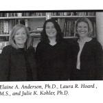 2001 06 Elaine Anderson Laura Hoard Julie Kohler