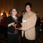2009 Affiliate Councils award Amanda Williams