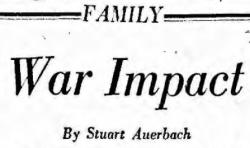 War Impact headline